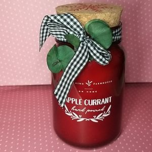 Brand new DW HOME Apple Currant  scented candle